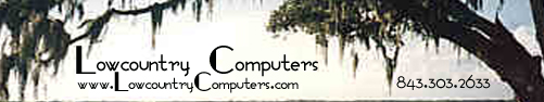 Computer Repair in Charleston SC is by LowcountryComputers.com Call us today!